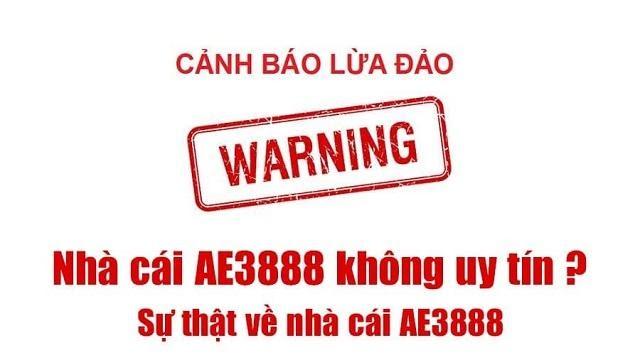 ae3888 cảnh báo